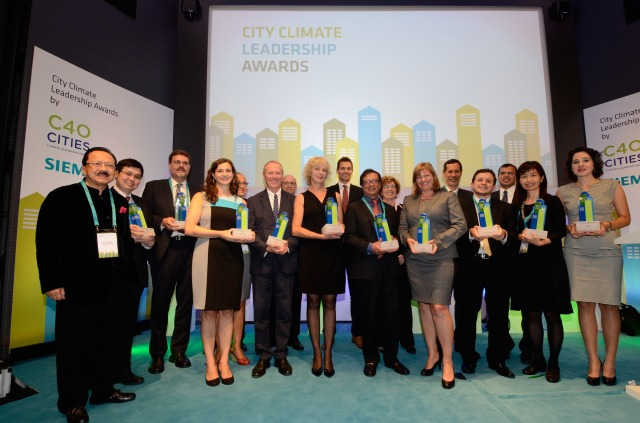 Preisverleihung: C40 & Siemens City Climate Leadership Awards / Awards Ceremony: C40 & Siemens City Climate Leadership Awards