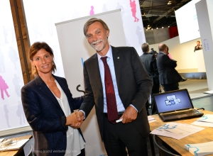 Spin8 Ceo with Italian Minister of Transport